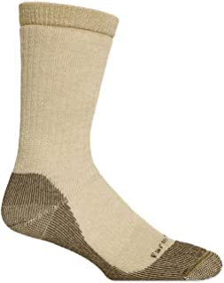 product image for Farm to Feet Men's Jamestown Midweight Hiking Socks, Lead Grey, Medium