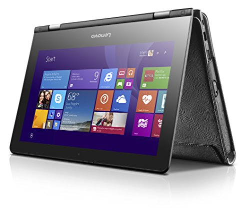 "Lenovo 14 Inch Laptop Sleeve - Flex 14"" Slot-in Sleeve Laptop Case, Black (GX40N41281)"