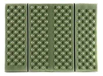 Outdoor Thermokissen faltbar schwarz Gr 39 x 30 x 1 cm Sitzunterlage Kissen