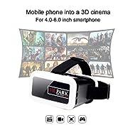 VR Park 3d Lunettes vidéo Box casque Plastique Google Carton réalité virtuelle pour 4.0–15,2cm Smartphone