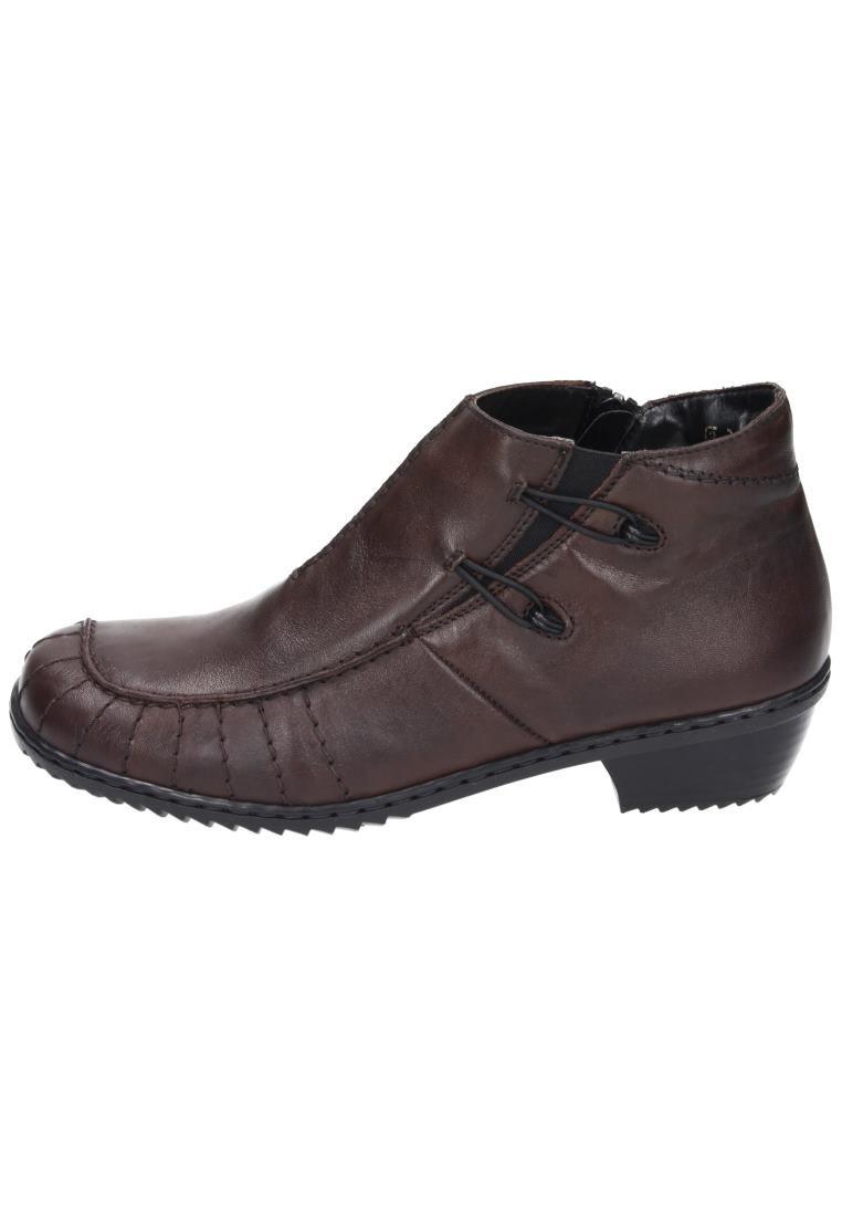 Rieker Girls' A Wter Boot I Will Pass Dark Brown Geprägtes Leder Uniform Dress Shoes 42 by Rieker (Image #1)