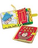 Jelly Cat Jellycatâ® Soft Books, Peek A Baby