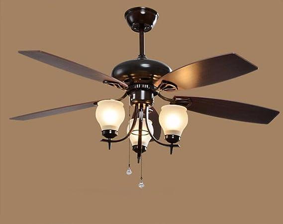 ZPSPZ-American Village Remote Control ventiladores, lamparas ...