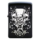 Mad Hatter Joker Skulls Custom Zippo Windproof Collectible Lighter. Made in USA Limited Edition & Rare