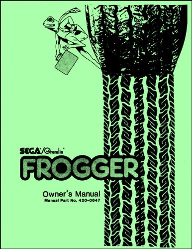 Frogger Arcade Game Service & Repair Manual