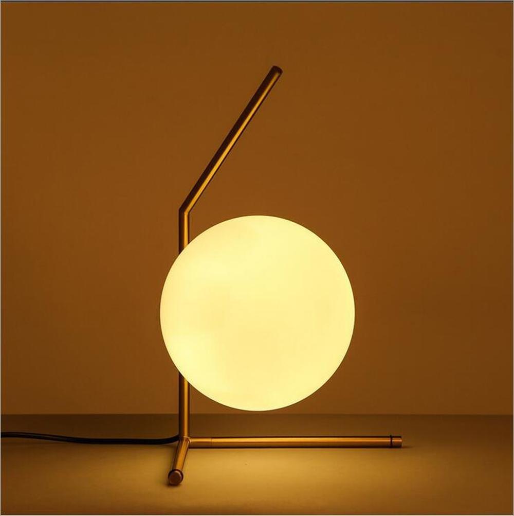 E27 lampada della sfera da letto moda comodino in vetro Lampada nordico moderno e minimalista creativo soggiorno , B