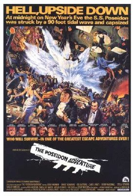 The Poseidon Adventure - Movie Poster (Size: 27'' x 40'') ()