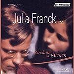 Rücken an Rücken   Julia Franck