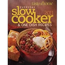 Amazon misc books everyday slow cooker one dish recipes taste of home fandeluxe Image collections