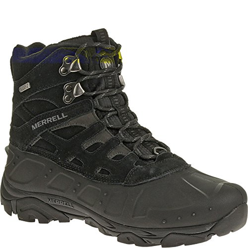 Merrell Men's Moab Polar Waterproof Winter Boot,Black,10 M US -