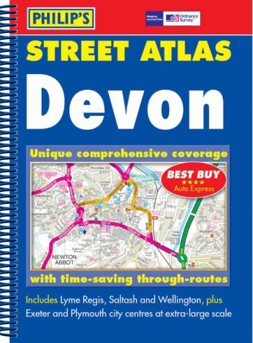 Philip's Street Atlas Devon: Pocket Edition ebook