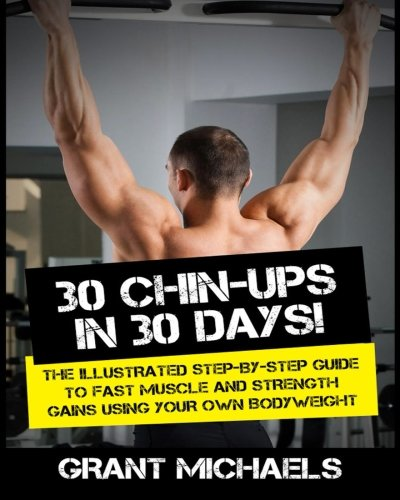 Chin Ups Days Illustrated Step Step product image