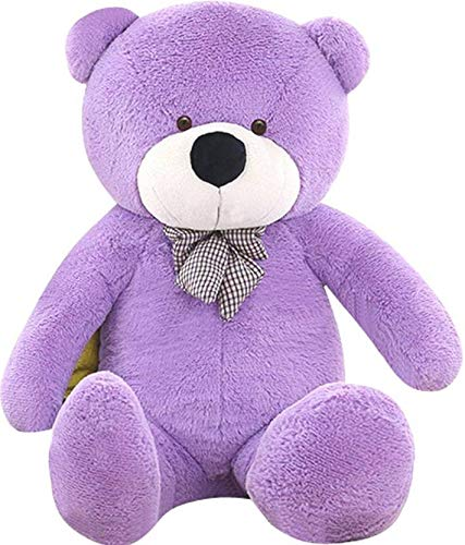 "WOWMAX 63"" Purple Giant Life Size Teddy Bear Cuddly Stuffed Plush Animals Teddy Bear Toy Doll for Birthday Valentine's Day from WOWMAX"