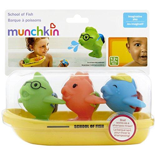 51qi1PKjBlL - Munchkin Bath Toy, School of Fish