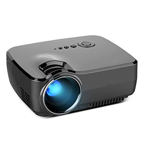 Amazon.com: Asdf Mini HD 1080P Proyector Portátil Hogar Mini ...