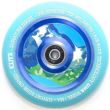 Elite Air Ride 125 mm azul/Aqua - Rueda para patinete ...