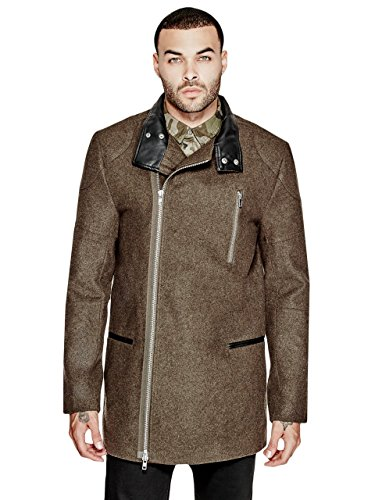 G by GUESS Men's Roman Peacoat (Winter Coat Guess)