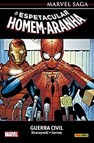 Marvel Saga - O Espetacular Homem-aranha Vol. 11: Guerra Civil