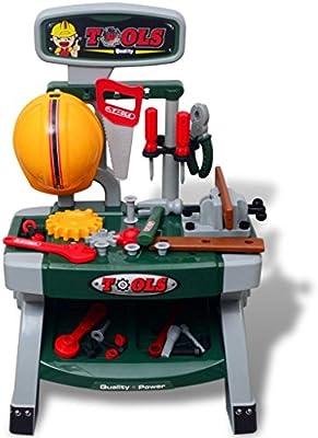 Furnituredeals Caja Herramientas de Juguete Divertida Mesa de ...