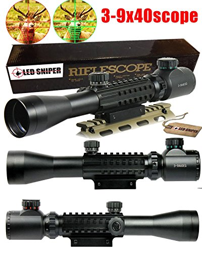 Ledsniper3-9x40-Tactical-Rifle-Scope-Red-Green-Illuminated-Mil-Dot-Optical-Gun-Scope