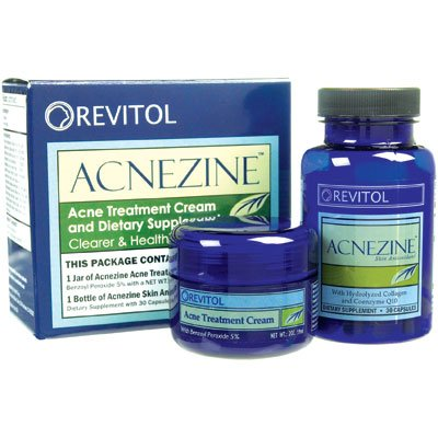 Revitol Acnezine Kit Natural Acne Cure Buy Online In Belize