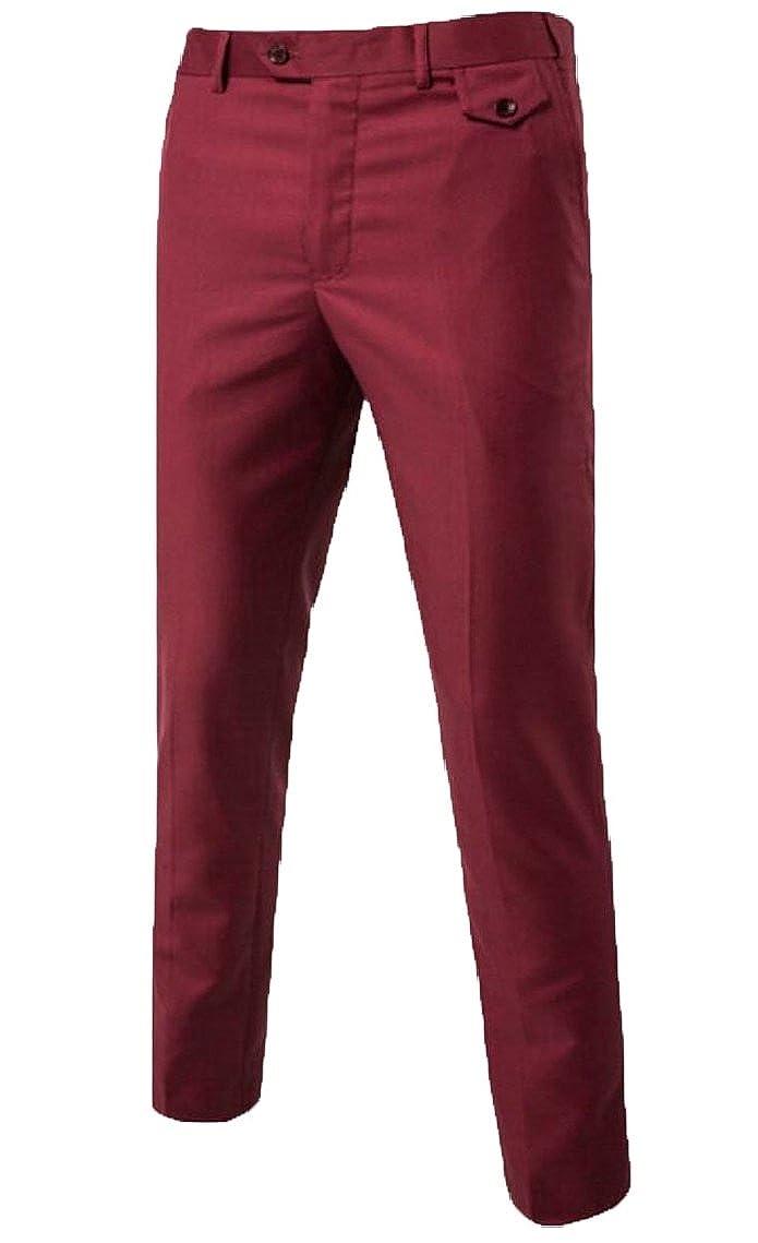 HTOOHTOOH Mens Suit 3 Piece Jacket Two Button Blazer Tux Vest/&Trousers