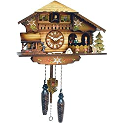 Alexander Taron Importer Battery Operated Black Forest Cuckoo Clock