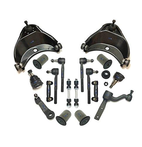 PartsW 16 Pc Suspension Kit for GMC & Chevrolet C1500, C1500Suburban, C2500, C2500Suburban, Tie Rod Linkages, Control Arm Bushing, Idler Arm Heavy Duty, Upper Control Arms & Ball Joints - Idler Arm Bushing Kit