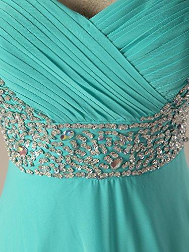 Robes De Bal En Mousseline De Soie Perles Mancherons Femmes De Mariée De Longues Anna Robes De Soirée Jaune