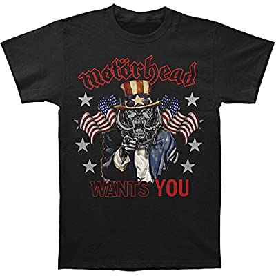 Motorhead Men's Motorhead Wants You T-shirt Black
