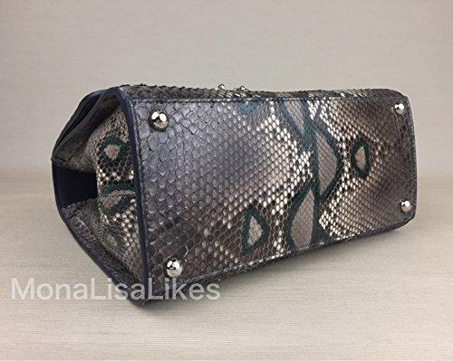 Dolce Amp Gabbana Miss Monica Crocodile Python Snakeskin