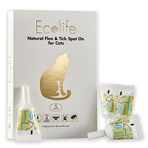 Ecolife Spot On Flea and Tick Repellent for Cats and Kittens