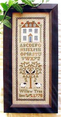 (Willow Tree Inn Cross Stitch Chart )
