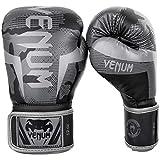 Venum Elite Boxing Gloves - Black/Dark camo - 16 Oz