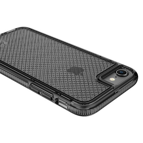 "Apple iPhone 7 & 6 / 6s 4.7"" case, Prodigee [Safetee] Smoke Gray Grey 2 Meter Military Certified Drop Shock Test schlank Handyhülle Fall Schutz dünn Hülle Stück dünner dünn Cell Phone Case Cover 2 Met"