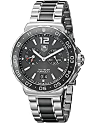 TAG Heuer Mens WAU111C.BA0869 Analog Display Quartz Silver Watch