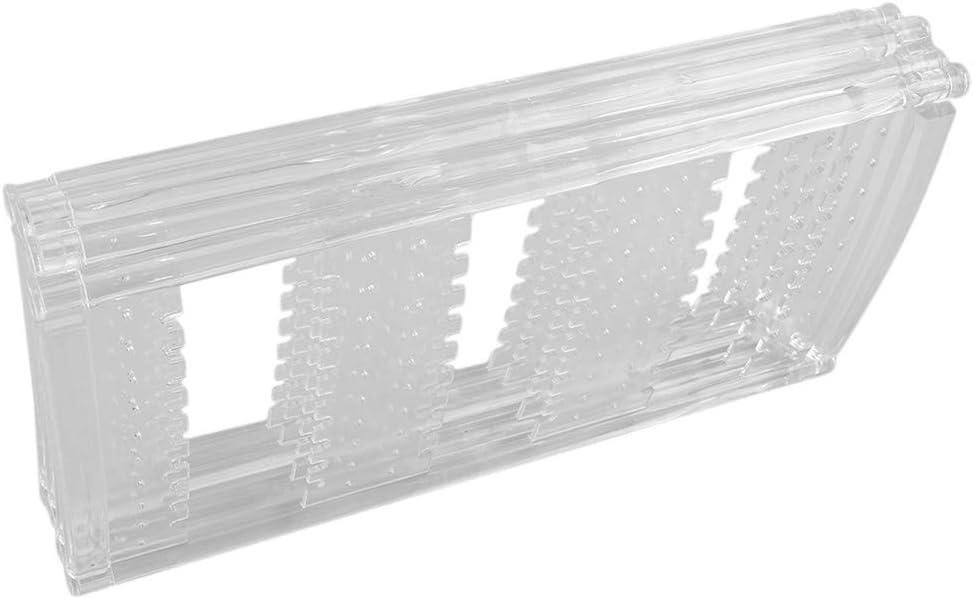 Blanc /À Quatre Niveaux Flybloom Porte-Organisateur De Pr/ésentoir Pliable pour Bijoux pour Bagues Bracelets Colliers