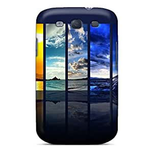 Excellent Design Nature Clouds The Spectrum Of The Sky Case Cover For Galaxy S3