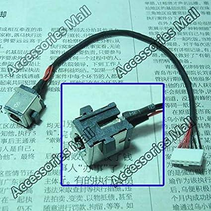 ShineBear 1-10 pcs 6-PIN New Laptop DC Power Jack with Cable for Asus K55A K55VM K55VD K55A A55A K55DE K55M K55V K55VS DC Jack Connector Cable Length: 1 PCS