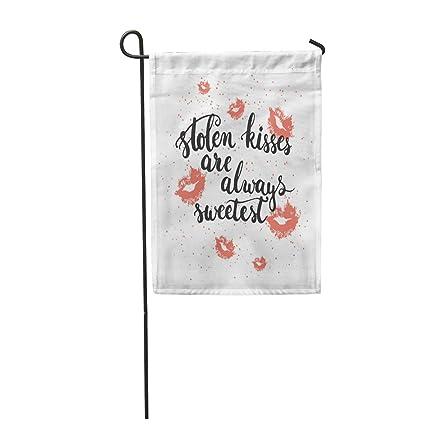Amazon com : Tarolo Decoration Flag Love Lettering Phrase