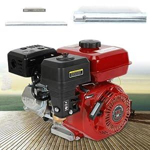 vcbfd 4 tiempos 7.5 CV OHV Motor de gasolina, motor de carta, 25°, cilindro con alarma de aceite