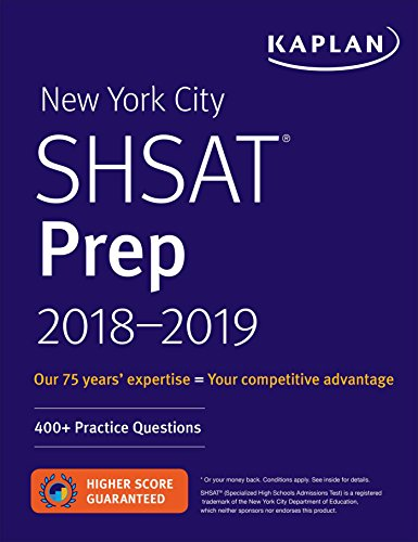 New York City SHSAT Prep 2017-2018 (Kaplan Test Prep)