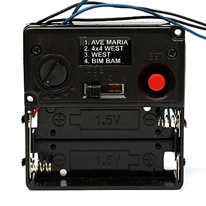 Amazon com: Music Chime Box 001 wall clock mechanism Clock