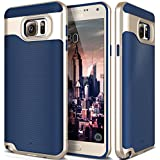 Galaxy Note 5 Case, Caseology® [Wavelength Series] Textured Pattern Grip Cover [Navy Blue] [Shock Proof] for Samsung Galaxy Note 5 - Navy Blue
