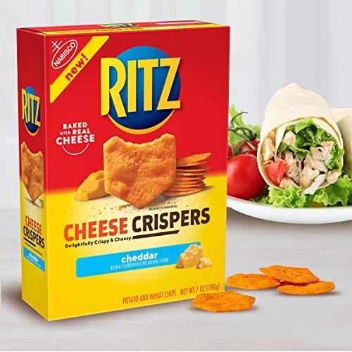 Ritz Cheese Crispers Cheddar Chips, 7oz