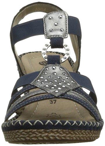 Remonte Dorndorf Remonte, Women's T-Brace Blue (Ozean/Silber/Blau 14)
