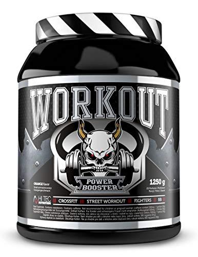 Hi Tec Nutrition – Workout Power Booster – 1250g – Orange