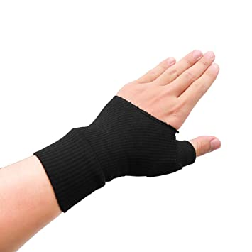 BUYITNOW Gel Wrist Support Brace, Gel Thumb Hand Wrist Support Gloves  Therapy Arthritis