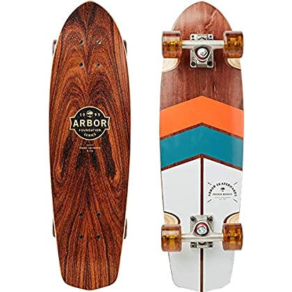 Image of Arbor Pocket Rocket Foundation 2019 Complete Mini Longboard Skateboard Skateboarding