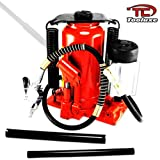 Tooluxe Tools 20 Ton Hydraulic Air/Manual Bottle Jack